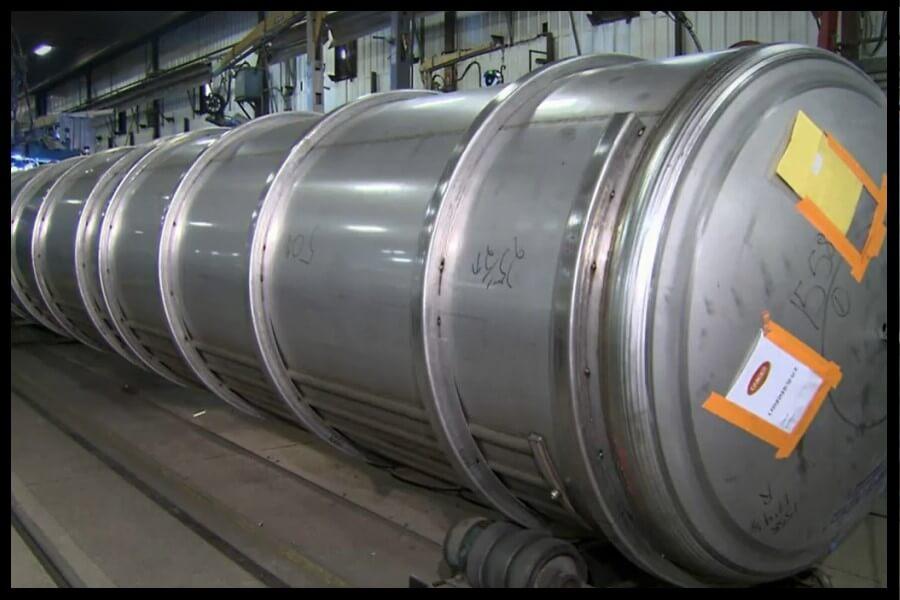 anillos unión tanques