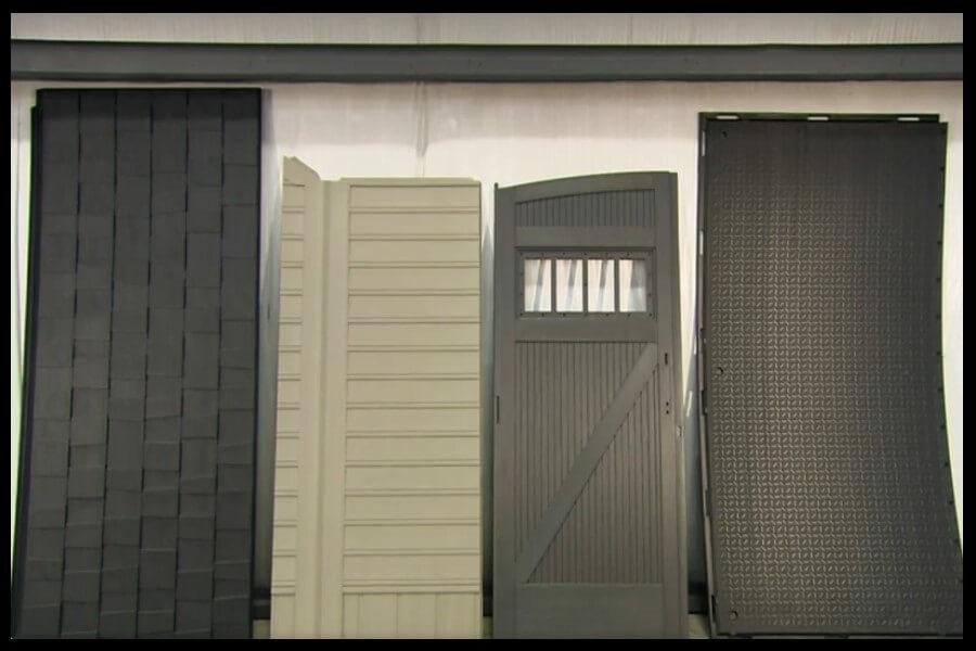 paneles cobertizo almacenaje