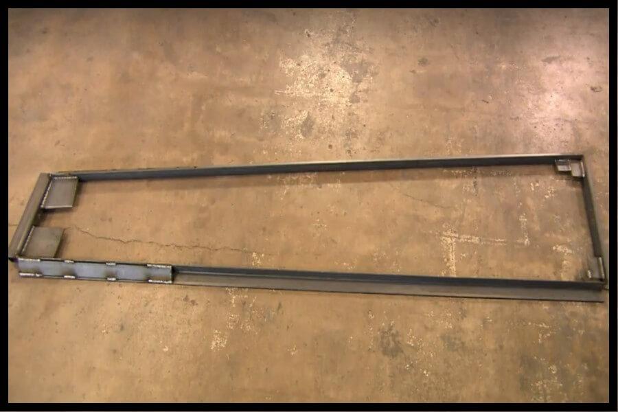 marco de acero