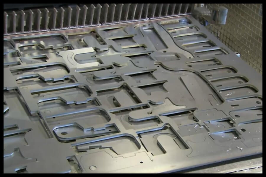 piezas perforadora