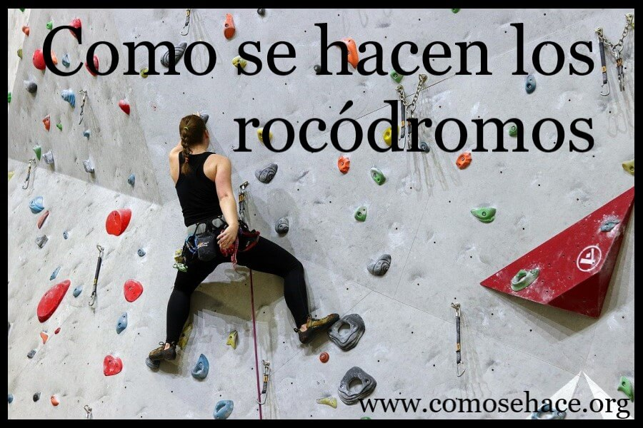 rocódromos pared escalada