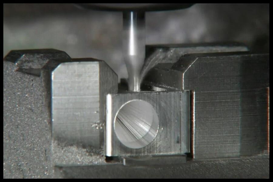 taladro agujero sacapunta